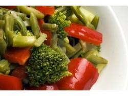 Brócoli con pimientos